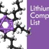 List of Public Companies With Lithium Properties