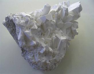 Diamond drill core from the Erin Ventures Piskanja boron project 250 km south of Belgrade, Serbia. Minerals samples of boron crystals. Source: Erin Ventures Inc.