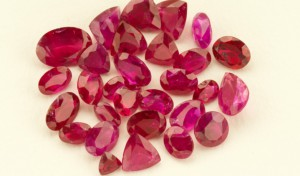 A selection of polished rubies from the Aappaluttoq ruby and pink sapphire deposit in southwestern Greenland. Source: True North Gems Inc.