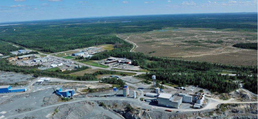 : Integra Gold's Lamaque Project at Val d'Or, Quebec. Source: Integra Gold Corp.