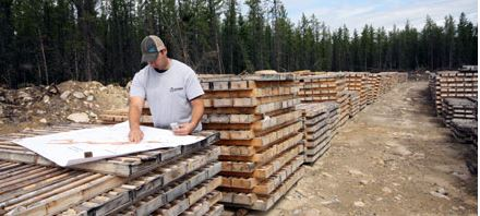 Diamond drill core logging at the Denison Mines Wheeler River Uranium Project. Source: Denison Mines Corp.