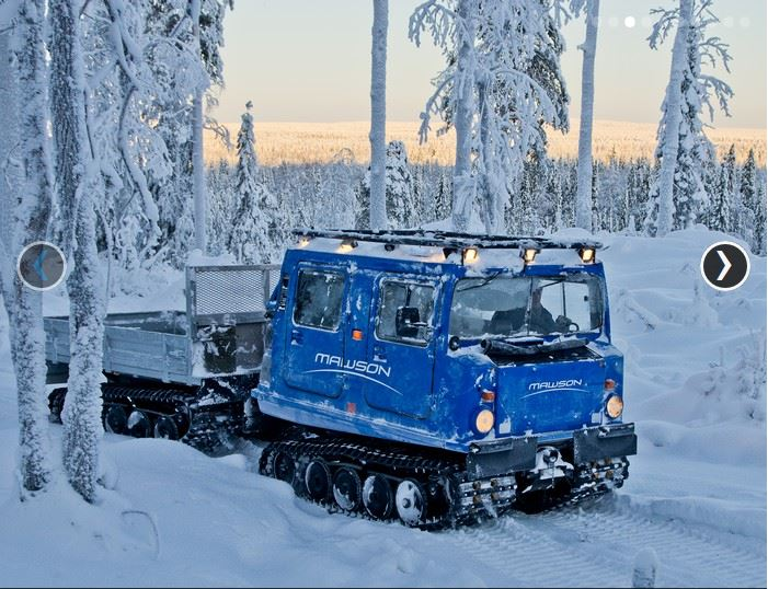 Winter exploration in Finland. Source: Mawson Resources Limited.