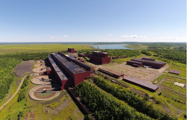Facilities at the LTV site will be refurbished and upgraded to modern standards. The site includes crushing and milling facilities, electric substations, tailings facilities, maintenance shops, an office building, railroad and other essential infrastructure. Source: PolyMet Mining Corp.