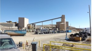 The Klondex Mines Midas mill between Elko and Reno, northern Nevada. Source: Klondex Mines Ltd.