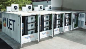 Uni.System™ delivers 600kW power and 2.2MWh maximum energy in a compact footprint of only five 20' containers.
