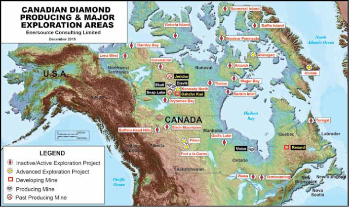 Resource World Magazine Diamonds in Canada A Major World Producer