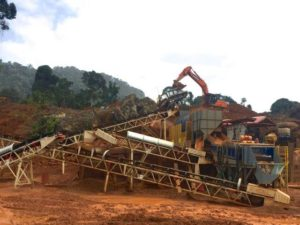 The Goldsource Mines Eagle Mountain Gold Mine in Guyana, South America. Photo courtesy Goldsource Mines Inc.