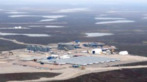 The De Beers/Mountain Province Diamonds Gahcho Kué diamond mine in Canada's Northwest Territories. Source: Mountain Province Diamonds Inc.