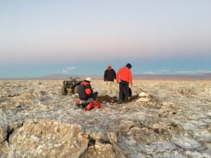 "Exploring the Arizaro lithium brine project located on the Arizaro Salar within the prolific ""Lithium Triangle"" in the Province of Salta, Argentina. Photo courtesy Argentina Lithium & Energy Corp."