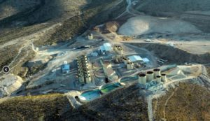 La Encantada silver mine, northern Mexico, 708 km northeast of Torreon, Coahuila, is First Majestic Silver's largest mining operation. Source: First Majestic Silver Corp.