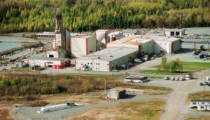 The Sleeping Giant Mine and mill in northern Quebec. Source: Abcourt Mines Inc.