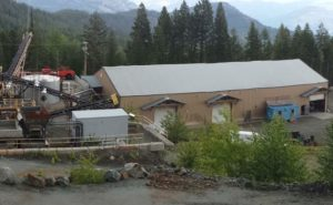 Golden Dawn's Greenwood mill in south-central British Columbia. Source: Golden Dawn Minerals Inc.