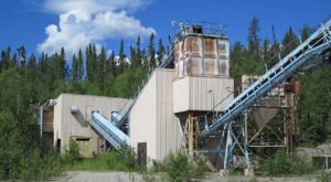 The Satori Resources 450 tonne-per-day gold processing facility near Flin Flon, Manitoba. Source: Satori Resources Inc.