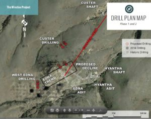 The Winston gold project near Helena, Montana. Source: Winston Gold Mining Corp.