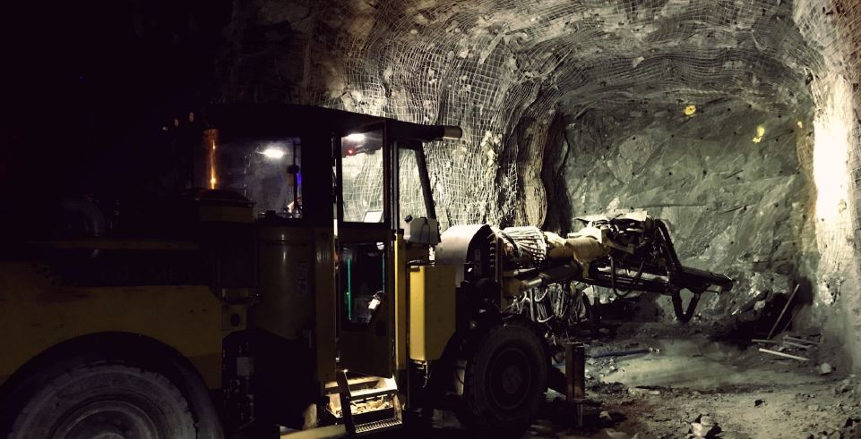 Advancing underground at Integra Gold`s Lamaque Project near Val d'Or northern Quebec. Source Integra Gold Corp