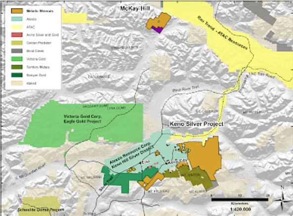 Mineral Map Of The World.Resource World Magazine Metallic Minerals Drilling Hits Bonanza
