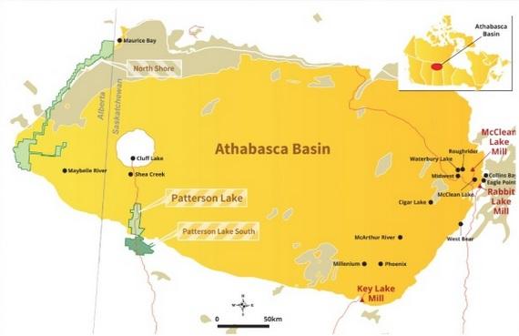 athabasca basin aktie